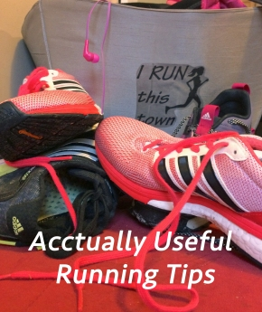Actually Useful Running Tips