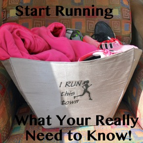 So You Want to be a Runner? How to Start, Really!