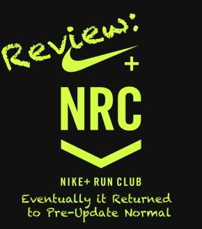 Nike Run Club Review and Return to Pre-Update Normal
