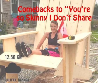 Skinny jokes comebacks