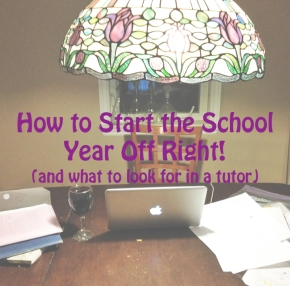 How to Start the School Year OffRight