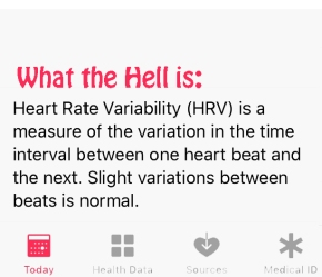 What the Hell is HRV (Heart RateVariability)?