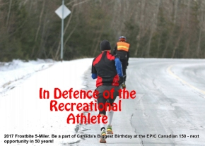 In Defence of the Recreational Athlete