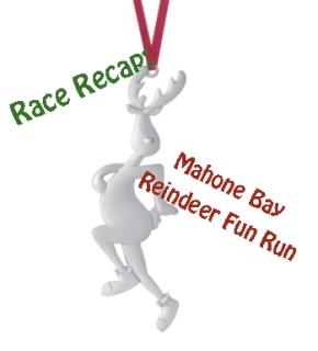 Race Re-cap: Reindeer Fun Run MahoneBay
