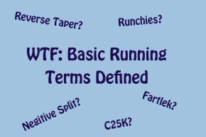 WTF? Basic Running Terms Defined